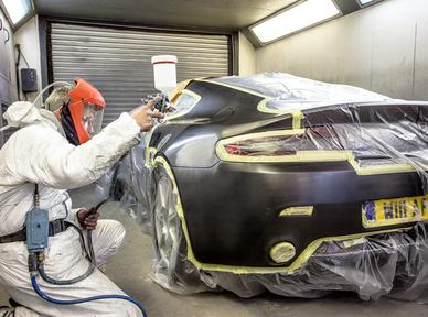 Trident Motors Paintshop